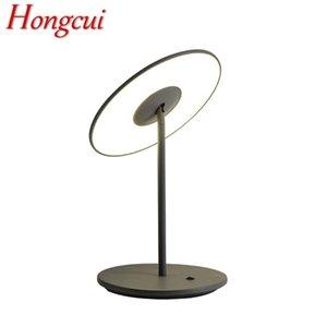 Hongcui Modern Table Lamp Semplice Design Design Creativo Desk Light Home Led Decorative per Foyer Living Room Bed Sedile