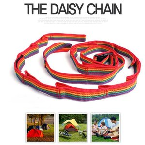 Colorful Tent Rope Outdoor Tent Rope Colorful Rainbow Cup Chandelier Outdoor Climbing Double Ribbon Washing Line