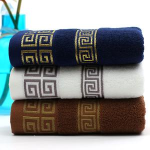 Serviette de coton direct usine Serviettes de serviettes en gros 110g Jacquard Trade Trade Boîte à serviette pour hommes Boîte cadeau de la publicité Set Logo Personnalisation