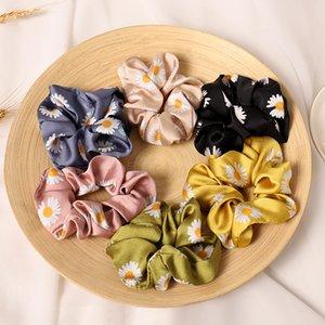 Nuova piccola margherita Capelli corda fiore elastico per capelli per donna cravatta per capelli hiart scrutie moda moda copricapo accessorio per capelli
