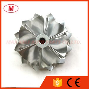 K16 5324-123-2206 49.62 61.98mm 6+6 blades Performance Turbo Billet compressor wheel Milling wheel for Audi TTRS,1855-970-0000,5316-970-01