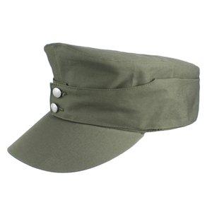 WWII WW2 GERMAN ARMY EM SUMMER PANZER M43 FIELD COTTON CAP HAT IN SIZES C0305