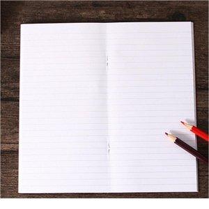 1pc lot Blank Kraft Sketchbook 110mmx210mm Traveler's Notebook Planner Memo Diary Notebook Standard Style Paper Book Pa jllkex