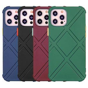 حالات درع وعرة آيفون 12 11 برو ماكس مكافحة قطرة حالة الهاتف غطاء لفون XR 7 8 زائد SE XS ماكس حماية قذيفة