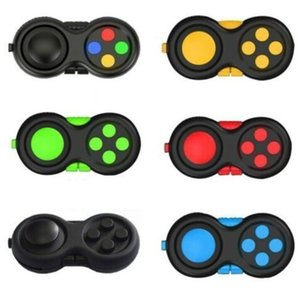 Fidget Hand Shank Pad Handles ADHD Anxiety Stress Relief Game Controller Squeezy Squeeze Finger Toy Simple Dimple Push Pop It Gifts H34IX0C