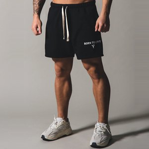 Muscle Fitness Brother Lyft Spring Summer Men's Sports and Leisure Capris Outdoor Running Training Loose Shorts