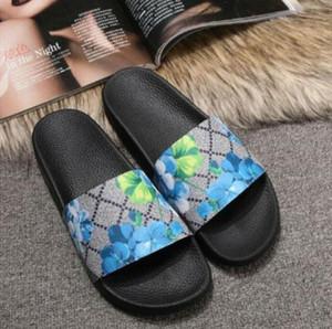 2021 designer de luxo tigre nova moda homens mulheres sandálias senhoras flip flops loafers preto branco vermelho slides slides