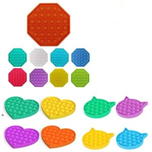 Pop it Fidget Push Bubble Toys Kids Sensory Toys Push Pop Toys for Children Adult Silicone Autism Special Needs Antistress FWA3569
