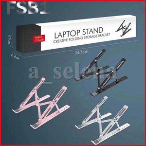 Support de support portable portable de réglage à 10 vitesses pour ordinateur portable pour MacBook Pro Air Lapdesk Porte-ordinateur portable Plafond de refroidissement par ordinateur