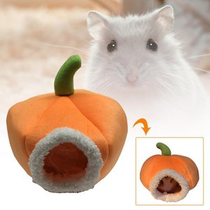 Squirrel Mice Bird Hammock Pet Ferret Bed Guinea Pumpkin Pig Toy House Hamster Warm Rat