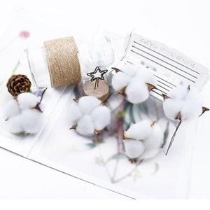6 قطع 5 سنتيمتر الزهور الاصطناعية الجملة القطن باقة عيد الميلاد الزخرفية الزهور الزهور الزفاف القابضة الزهور ho qyljsd