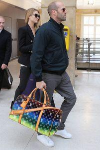 Men Duffel Bags Fashion Designer Women travel bag Brown Poker flower luggage handbags large capacity sport outdoor tote SIZE 45-55CM #51885 Original pic contact me