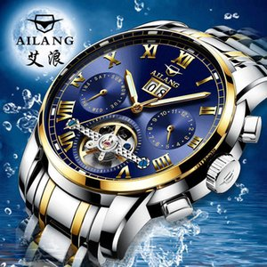 Ai Fashion Trend New Concept Automatic Mechanical Men's Watch Hollow Out Luminous Waterproof Sports