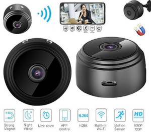 A9 1080P Full HD Mini Spy Video Cam WIFI IP Wireless Security Hidden Cameras Indoor Home surveillance Night Vision Small Camcorder DHL free