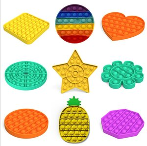 Factory price hair federal push bubble toys pop it autism special needs stress relieving toys help relieve stress improve sublimation blank