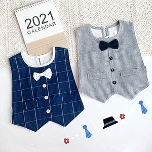 Baby Bibs Boys Bib Bows Bow Tie Cotton Newborn Burp Cloths Burping Cloths Infant Outfits Baby Accessories Boys Wear 0-2Y B4066
