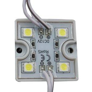 وحدة LED لإرسال قناة وعلامة LED، 4PCS SMD، 36mm * 36mm، ماء IP65، حالة بلاستيكية