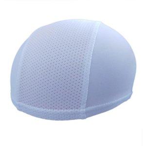 Motorcycle Helmets Unisex Windproof Moisture Wicking Inner Liner Headgear Dome Cap Mesh Breathable Helmet Lining