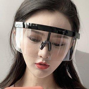 Rexxar 2021 Nueva moda Gafas de sol Mujeres Hombres Marca Diseño Gafas Gafas Sun Gafas Big Frame Shield Visor Hombres Vidrios a prueba de viento UV400