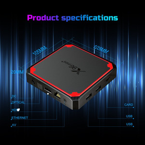 New Arrival X96 MINI PLUS Amlogic S905W4 Android 9.0 TV Box 2GB 16GB Dual WiFi 5G 4K Medi Player Updated X96 MINI