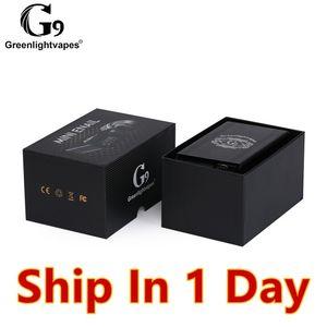 Min.2set G9 Mini Enail Wax Vaporizer TC Box Mod TI Nail Wax Atomizer Carb Cap Dab Tool Glass Bong
