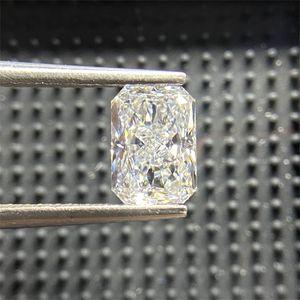 Meixidian NGIC Certificate Excellent D VS2 Radiant Cut 5x7 Diamond Grown Stone Lab Synthrtic HPHT DIA 0308