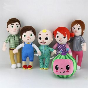 Melon JJ Plush Toys Cocomelon Kids Gift Cute Stuffed Toy Educational Plush Doll Cartoon Family Cocomelon Christamas Gift