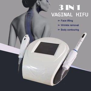 2 in 1 HIFU Vajinal Sıkma Enstrüman Anti-kırışıklık 360 Rotasyon Vajina Sıkılaştırıcı Cilt Bakımı Makinesi