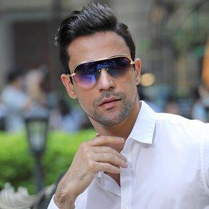 Sunglasses 2021 Latest Rimless Man Vintage Luxury Women Fashion Designer Individuality Luxe Bril Lentes De Sol Hombre