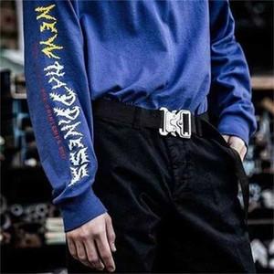 Alyx Belt Brand Mens Military Outdoor Multifunctional Training High Quality Strap Ceintures Hip Pop Men Belt Gsjkxz