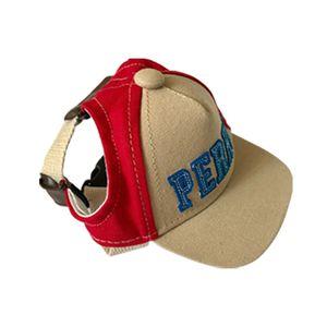1PCS Outdoor Puppy Pet Hat Dog Accessories For Small Dogs Cute Alphabet Dog Cap Adjustable Baseball Pet Hats Summer Gorro Perro