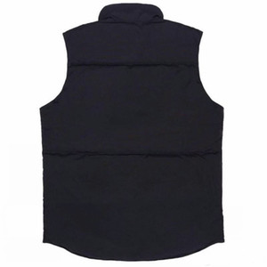 2021 New Mens Coletes Estilo Homens Mulheres Freestyle Real Feather Down Inverno Moda Colete Body Warmer Advanced Waterproof Tecido