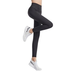 LU-32 lulu lululemon lemon  Fitness Athletic Solid Yoga Pantaloni Donne Girls Girls High Waist Running Yoga Abiti da donna Sport Full Leggings Ladies Pants Workout q t3dc #