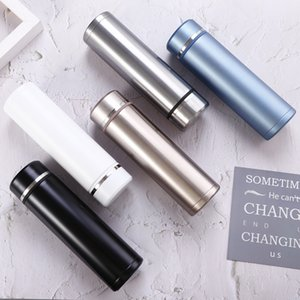 500ML Stainless Steel rmal Mug Cafe Tea Milk rmos Drink Water Bottles Sports Flask Termo Cup Car Travel Bottles