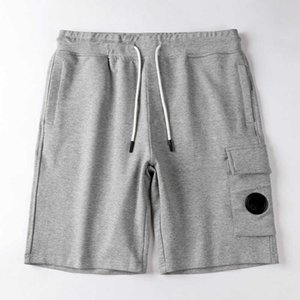 CPtopstoney konng gonng Fashion High quality Summer Cotton Terry shorts European and American hip hop street style Drawstring shorts
