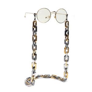 Punk Chunky Sonnenbrille Kette für Frauen Männer Vintage Gläser Halter Kabel Lanyard Hals Strap Seil Landyard Brillen Zubehör