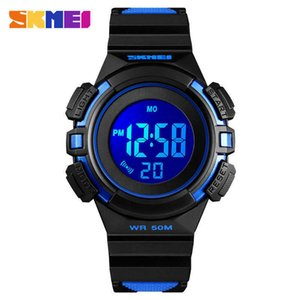 Skmei   hot selling female students' electronic watch sports waterproof colorful lighting children's gift men's