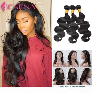 Brazilian Body Wave Closure And Bundles Ear To Ear Frontal Closure With Bundles 360 Frontal With Bundles With Frontal Water Wave Full Lace