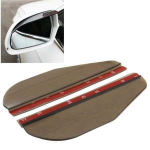 wtyd for mirrors 2 PCS Flexible Shielding Rain Board Sun Visor Shade Rearview Mirror for Car Rearview Mirrors