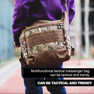 PAVEHAWK Tactical large-capacity outdoor messenger bag Travel Mountaineering Wallet Bag Boy Camouflage Duffle Rucksack
