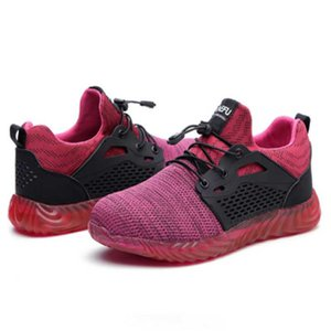 أحذية رايدر أحذية الرجال والنساء غير قابلة للتدمير الصلب رئيس السلامة المضادة للحرب تنفس العمل الرياضية