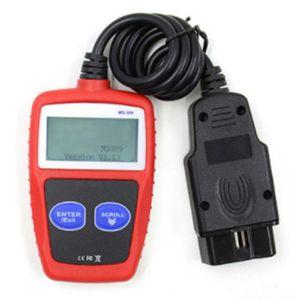 Leitores de Código Ferramentas de Digitalização Fault de Auto Reader Motor Diagnóstico Digitalização Reded GeredSchap MS309 OBD2 OBDII UK Analisador automotivo
