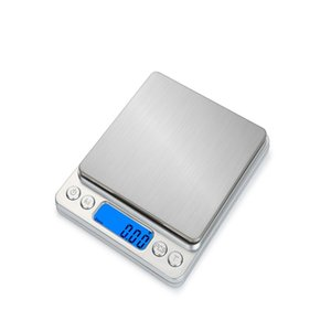 HT-I200 1000 2000 3000g x 0.1g Portable Stainless Steel Electronic LCD display Food Scales Kitchen Jewelry Weight Digital Scale