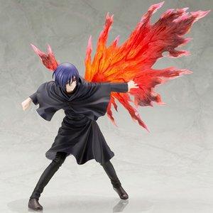 26 cm Artfx J Tokyo Ghoul Anime Figura Touka Kirishima 1/8 Figura de acción de PVC Toy Touka Kirishima Figura Modelo Muñeca Tohka Figurine C0220