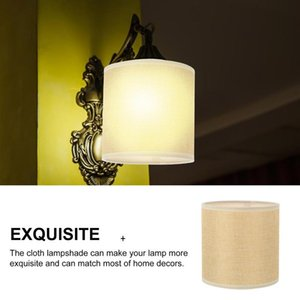 1 Pc Linen Fabric Lampshade Ceiling Light Lamp Shade Cloth Wall Lamp Supply Linen Fabric Lampshade