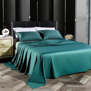 40 Flat Sheet 600TC Egyptian Cotton Twin Queen Size Solid color Top Sheet Best Premium Quality Bed Luxury Soft Breathable