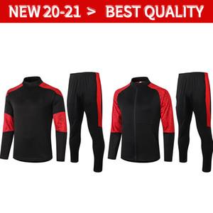 2021 AC Milan Tracksuit Surversement Jacket Set 20 21 22 Formazione Suit Calhanoglu Giacca da calcio a manica lunga Calhanoglu Giacca sportiva Sportswear Tracksuit