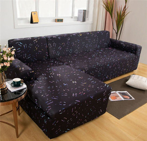 Fashion Luxurious Sofa Cover Set Geometric Couch Cover Elastic Sofa for Living Room Pets Corner L Shaped Chaise Longue