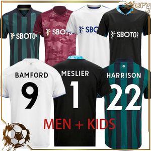 Best selling Leeds soccer jerseys United 2020 2021 T ROBERTS HARRISON football shirts HERNANDEZ COSTA Men Kids kit BAMFORD CLARKE uniforms