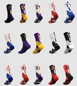 Новые хлопковые элитные носки баскетбола уточняют полотенце нижний дезодорант велосипедные команды носки футбольные спортивные носки бегущие мужчины женщины оптовые